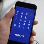Taxi-app. MOOVE. Taxa til lav pris.