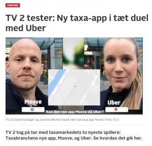 Ny taxa-app i tæt duel med Uber