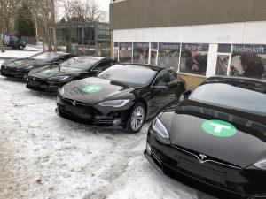 Dantaxi,Tesla