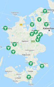 taxadækning sjælland