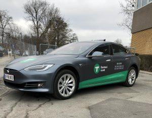 Tesla el-taxi Dantaxi
