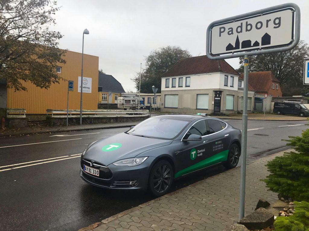 Dantaxi Tesla Padborg