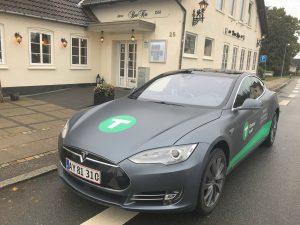 Dantaxi Tesla Padborg by