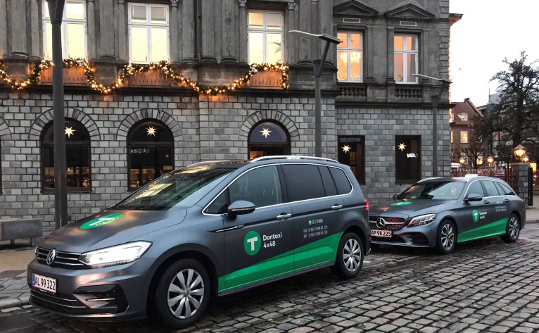 Dantaxi i Vejle - jul nytår taxa