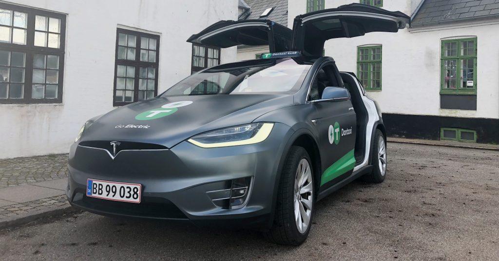 Tesla X Taxa-storvognfb